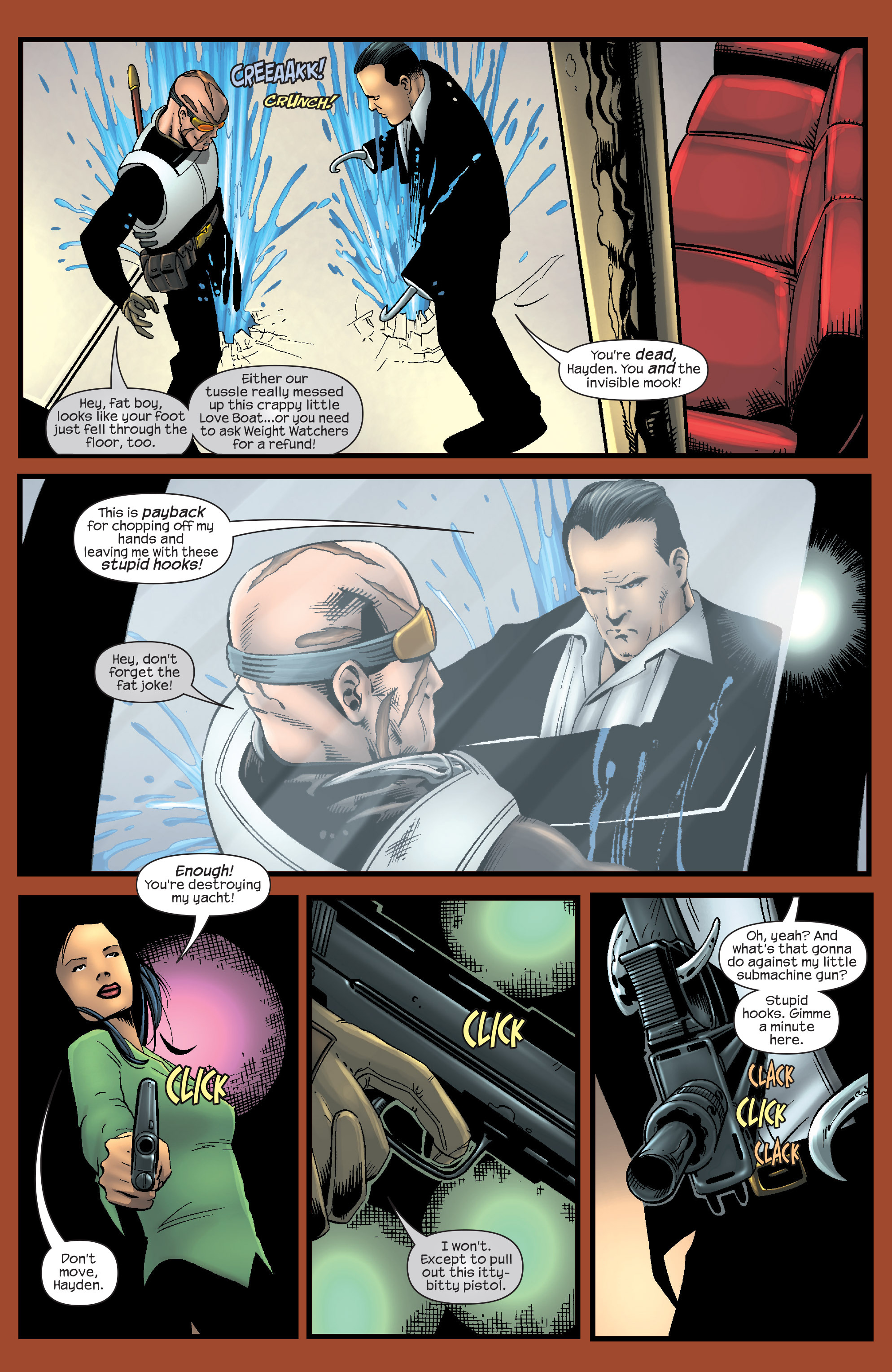 Read online Agent X comic -  Issue #9 - 18