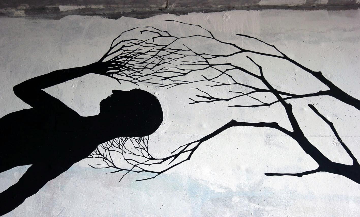 Street Art Collaboration By David De La Mano and Pablo S. Herrero In Porto, Portugal. 3