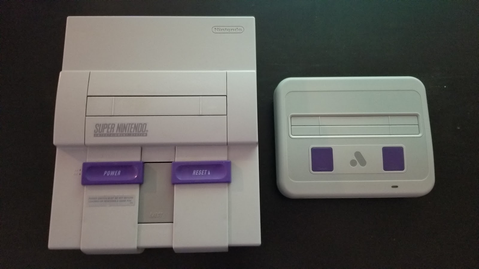 Nerdly pleasures super nt review the ideal fpga console - How much is a super nintendo console worth ...