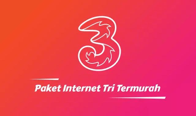 Paket Internet Tri Akhir 2020