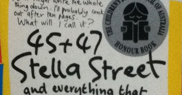 Bookshelf: 45 + 47 Stella Street And Everything That