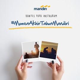 Kontes Foto Instagram Bank Mandiri Berhadiah Voucher Jutaan Rupiah
