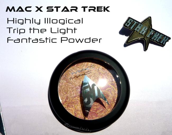 MAC Star Trek makeup collection: photos, swatches, review