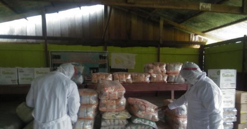 QALI WARMA: Más de dos mil ciudadanos de 24 comunidades nativas en la región San Martín reciben 56 toneladas de alimentos - www.qaliwarma.gob.pe