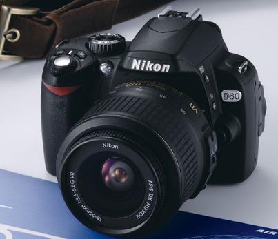 Spesifikasi dan Harga Kamera Nikon D60 Terbaru