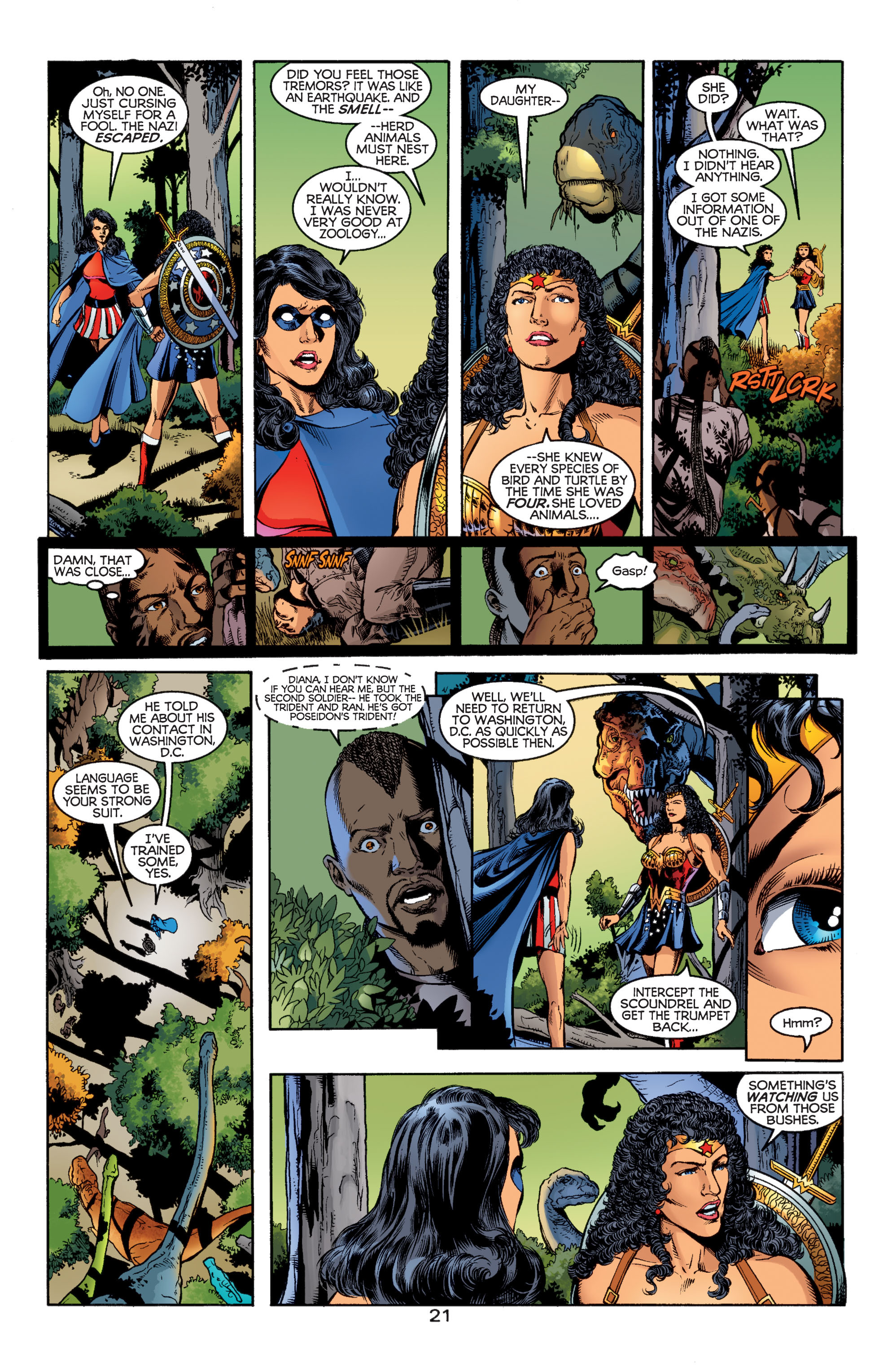 Read online Wonder Woman (1987) comic -  Issue #184 - 21