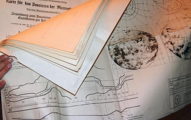 Свръхсекретни нацистки карти и документи потвърждават съществуването на мистериозната Агарта...