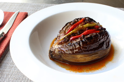 Turkish Stuffed Eggplant (Karniyarik) – Splitting Bellies