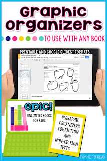 Fourteen, half-page, graphic organizers in PDF form for easy printing or Google Slides, for digital use. Students can type right on the embedded graphic organizers.