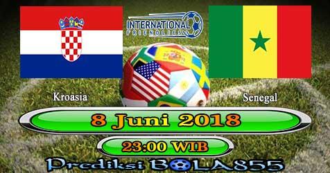Prediksi Bola855 Croatia vs Senegal 8 Juni 2018