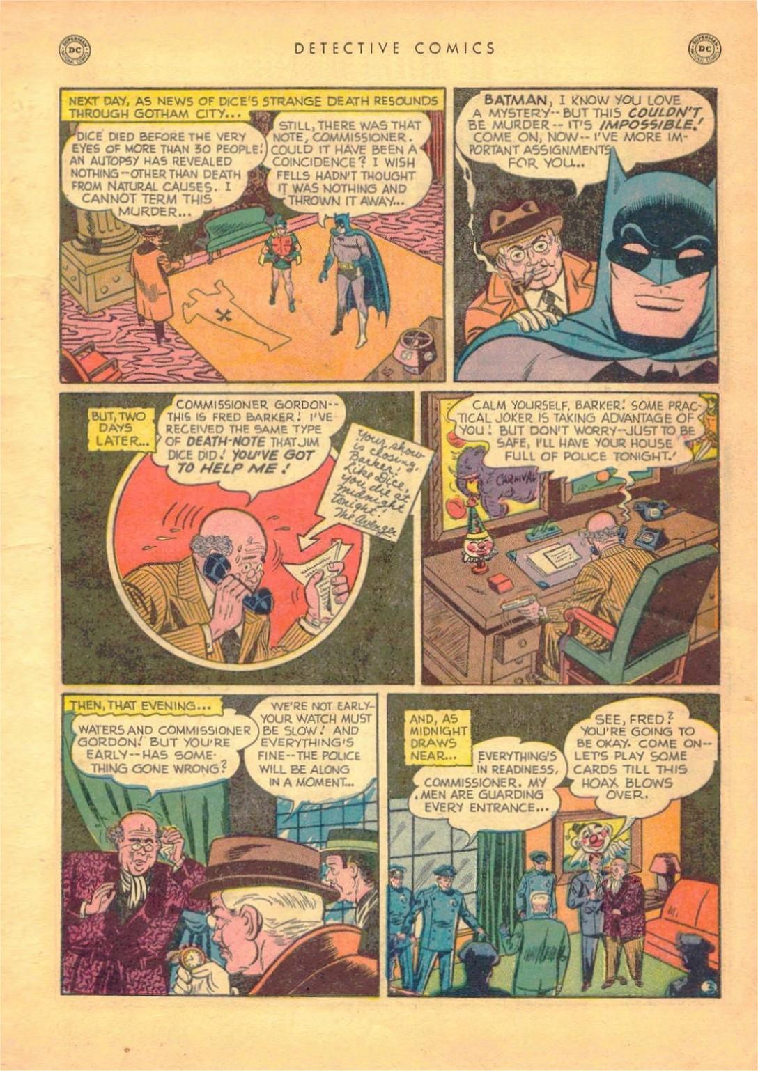 Read online Detective Comics (1937) comic -  Issue #161 - 5