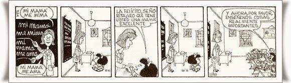 Mafalda de Quino. 20 libros que leer con tus hijos