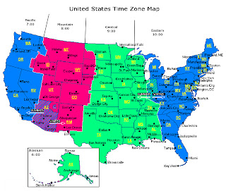 Chicago time zone