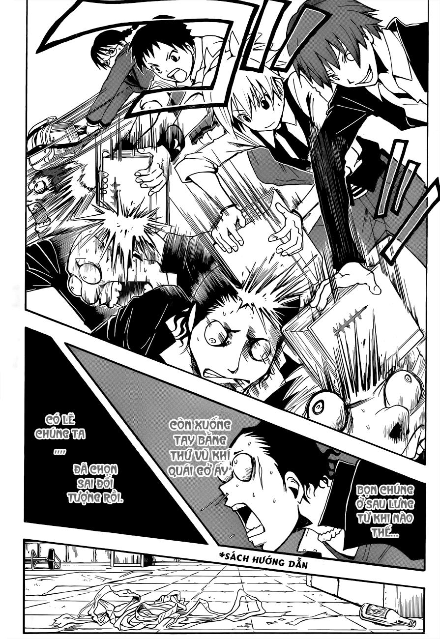 Ansatsu Kyoushitsu chap 17 trang 20