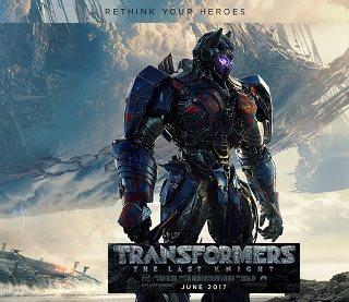 Film Transformers 5: The Last Knight