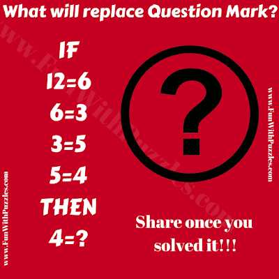 It is a brain twisting puzzle for adults in which you will require to think out of box. In this mind bending puzzle, your challenge is to find the value of missing number.