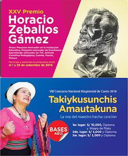 Premio Horacio y Concurso de Canto