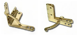gold plated quadrant hinges
