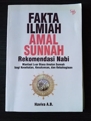 Cover Buku Fakta Ilmiah Sunnah Rekomendasi Nabi
