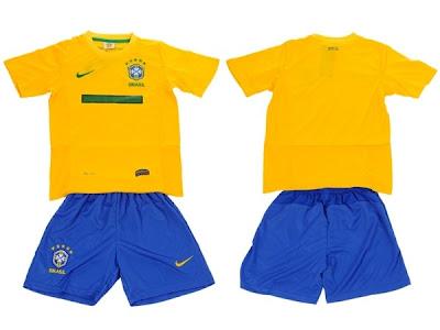 Kostum Brazil 2014