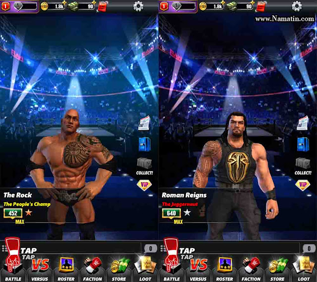 cheat wwe champion android tanpa root