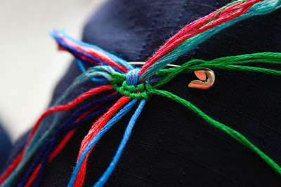 como hacer pulseras de macrame faciles