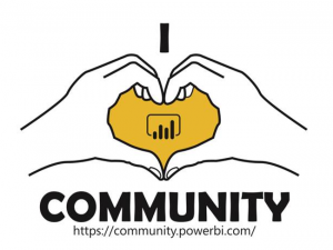 Win Power BI Swag with Community Kudopalooza!