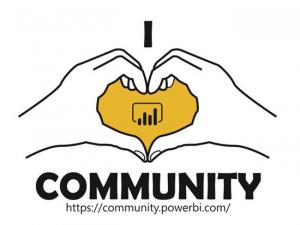 Win Power BI Swag with Community Kudopalooza!