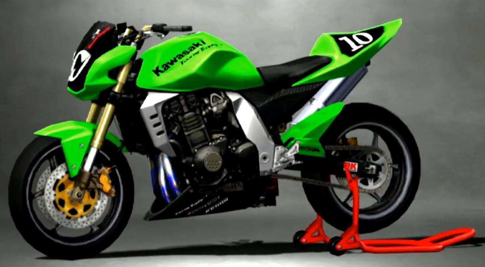 Kawasaki Z1000 2005 Racing Modify