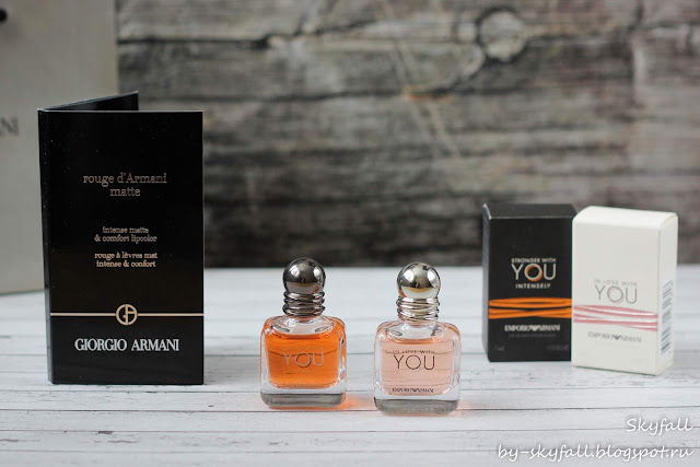 Emporio Armani: In Love With You & Stronger With You Intensely