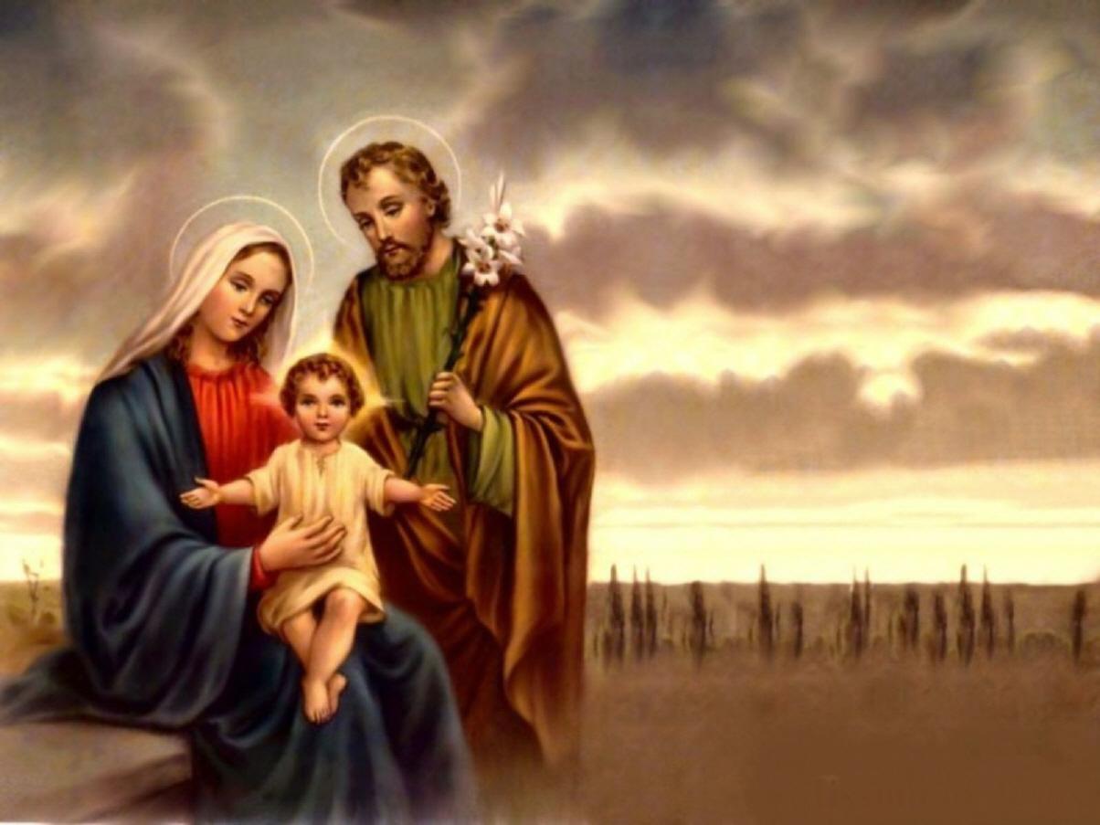 Madres Mónicas del Perú: LA SAGRADA FAMILIA: JESÚS, MARÍA ...