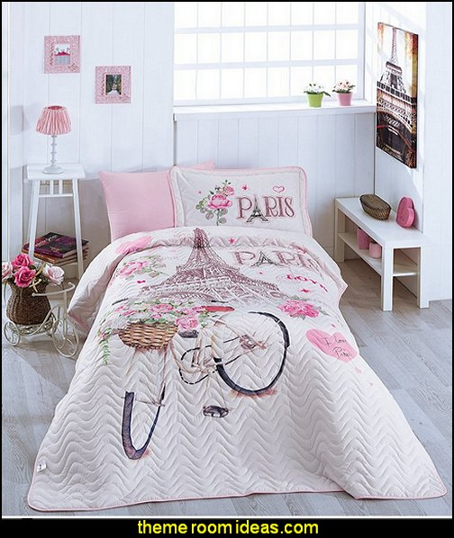 Paris Love bedding  paris bedroom - Paris themed bedroom ideas - Paris style decorating ideas - Paris themed bedding - Paris style Pink Poodles bedroom decorating -  French theme Paris apartment furniture - Paris bedroom decor - decor Paris style French Poodles - room decor french poodle - Paris Postcard bedding - Paris themed teenage bedroom ideas - Paris eiffel tower decor - decorating ideas for paris themed bedrooms - Paris Inspired Nursery - Paris bedrooms - Poodles in Paris
