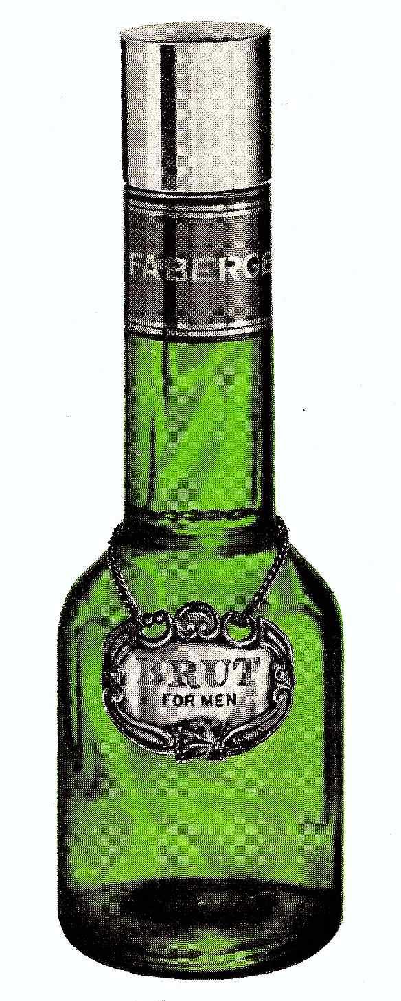 Brut aftershave bottle classic, 1966 Faberge