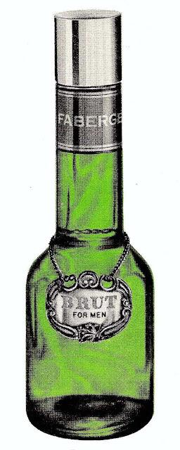 Brut aftershave bottle classic