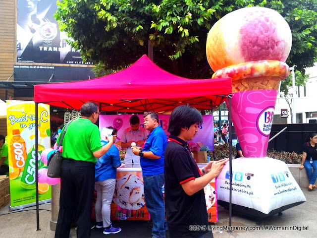 Baskins Robbins at RTL-CBS