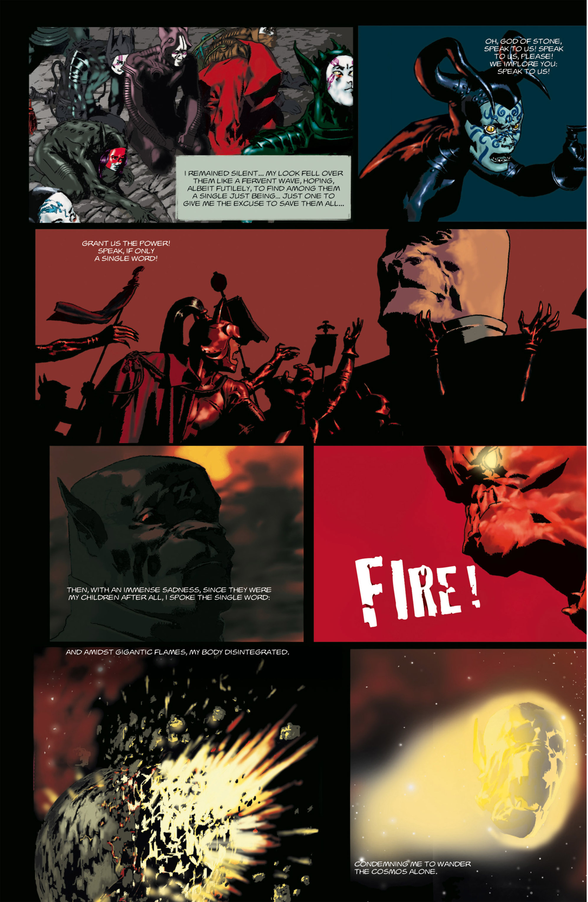 Read online Alejandro Jodorowsky's Screaming Planet comic -  Issue #1 - 9