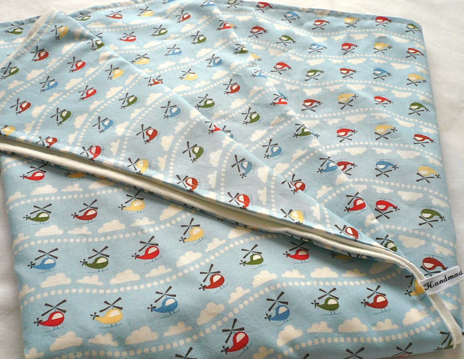 Handmade Jane: Baby blanket tutorial