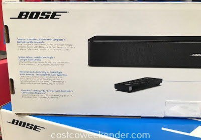 There's no way you can watch tv without the Bose Solo TV Speaker