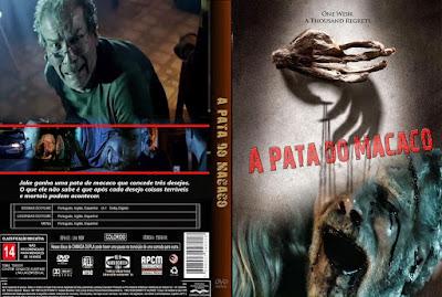 Filme A Pata Do Macaco DVD Capa