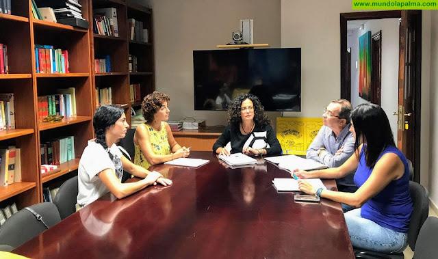 El Cabildo apuesta por las visitas divulgativas al Complejo Ambiental y los 'ECOlegios' en el marco del proyecto 'La Palma Recicla'