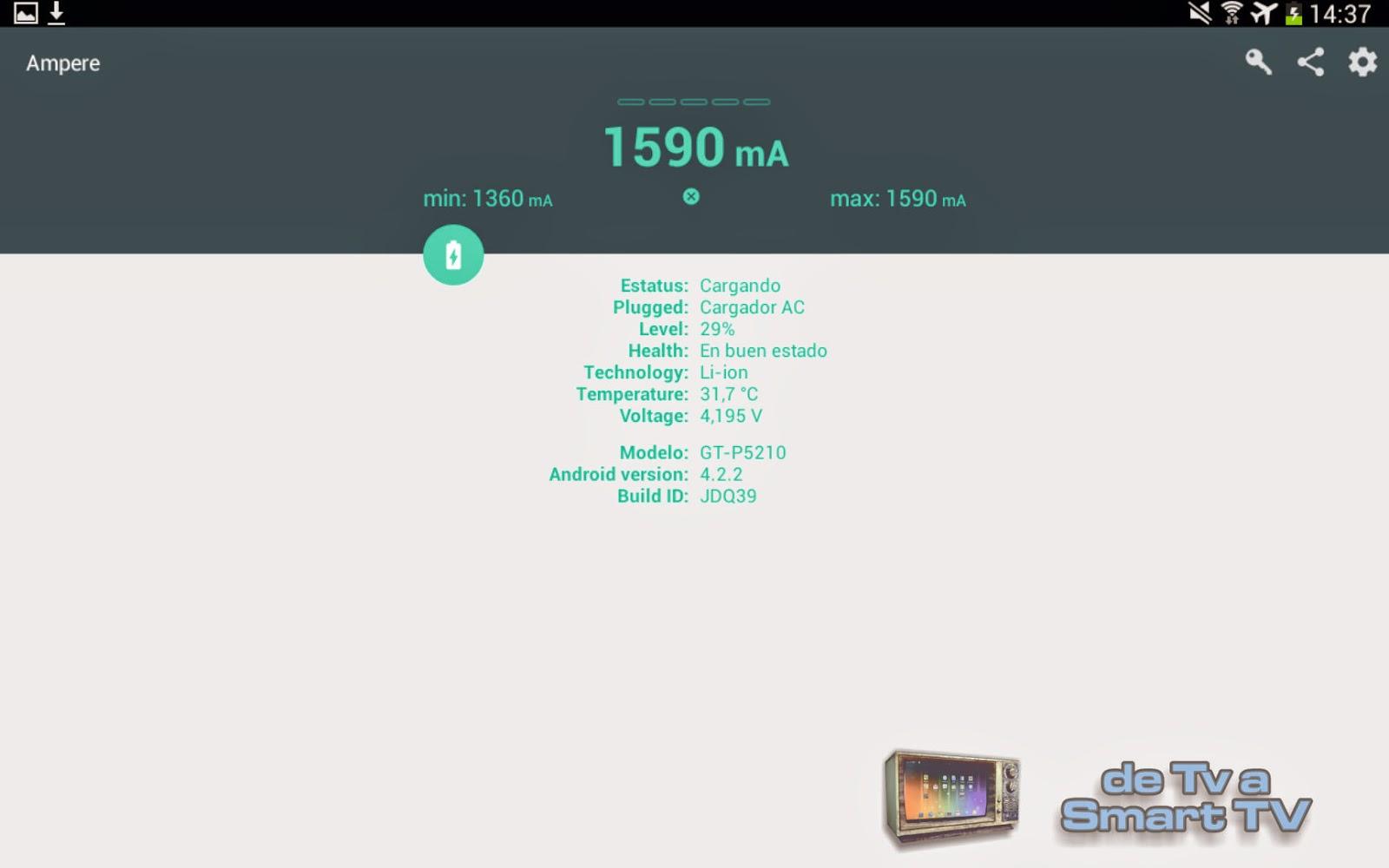 Ampere v1.44 - de TV a Smart TV