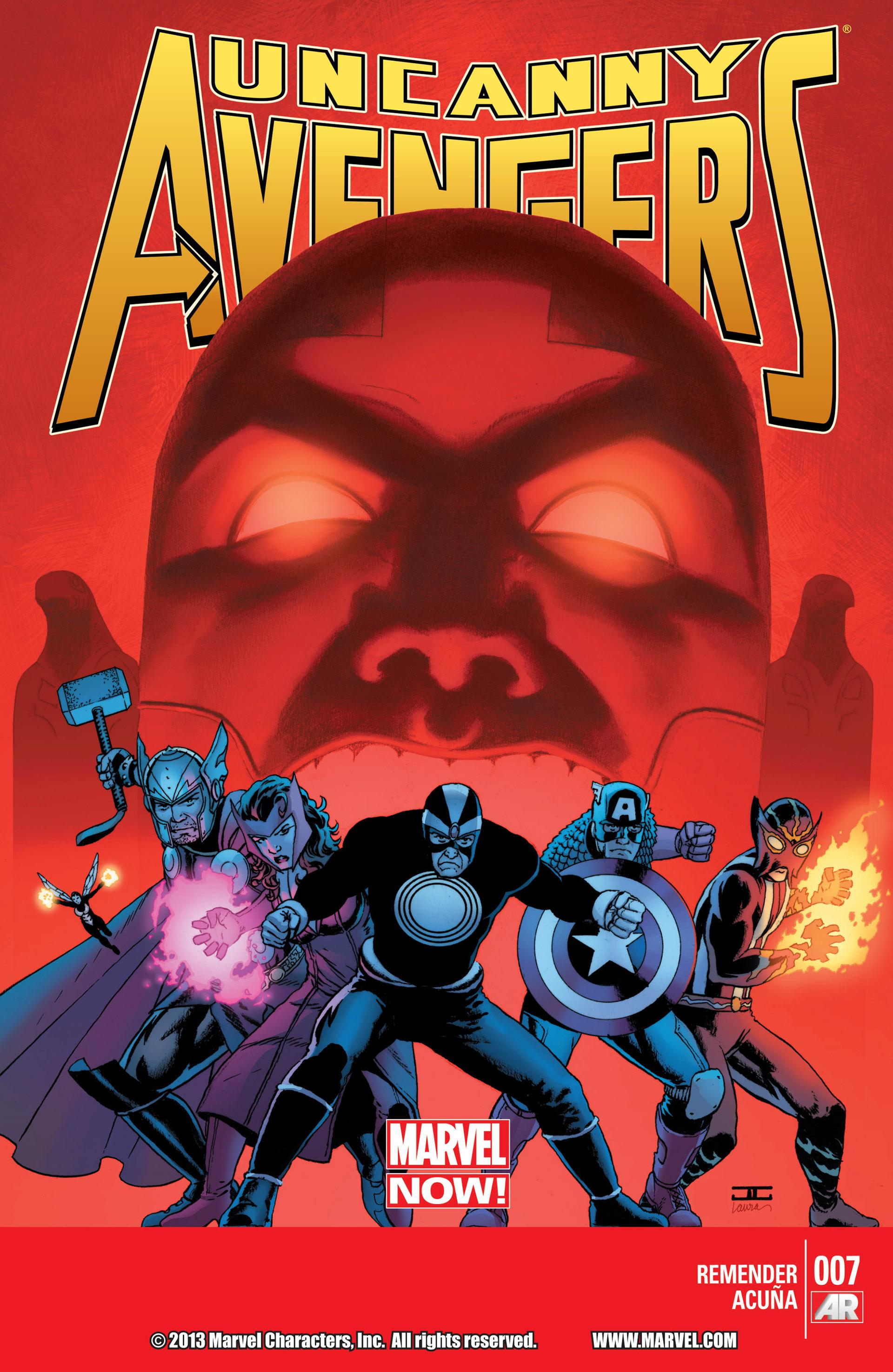 Read online Uncanny Avengers (2012) comic -  Issue #7 - 1