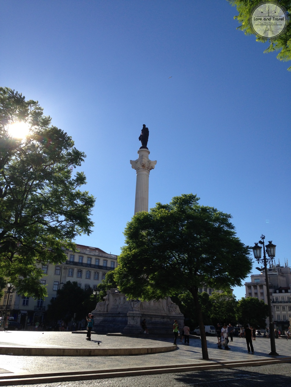 Praça D. Pedro IV - Rossio Lisboa