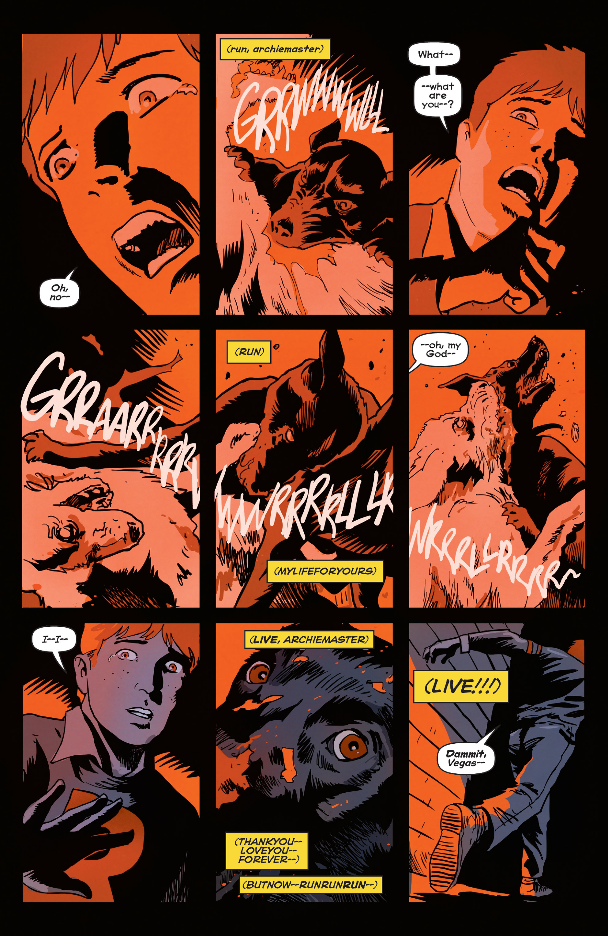 Read online Afterlife with Archie comic -  Issue #4 - 9