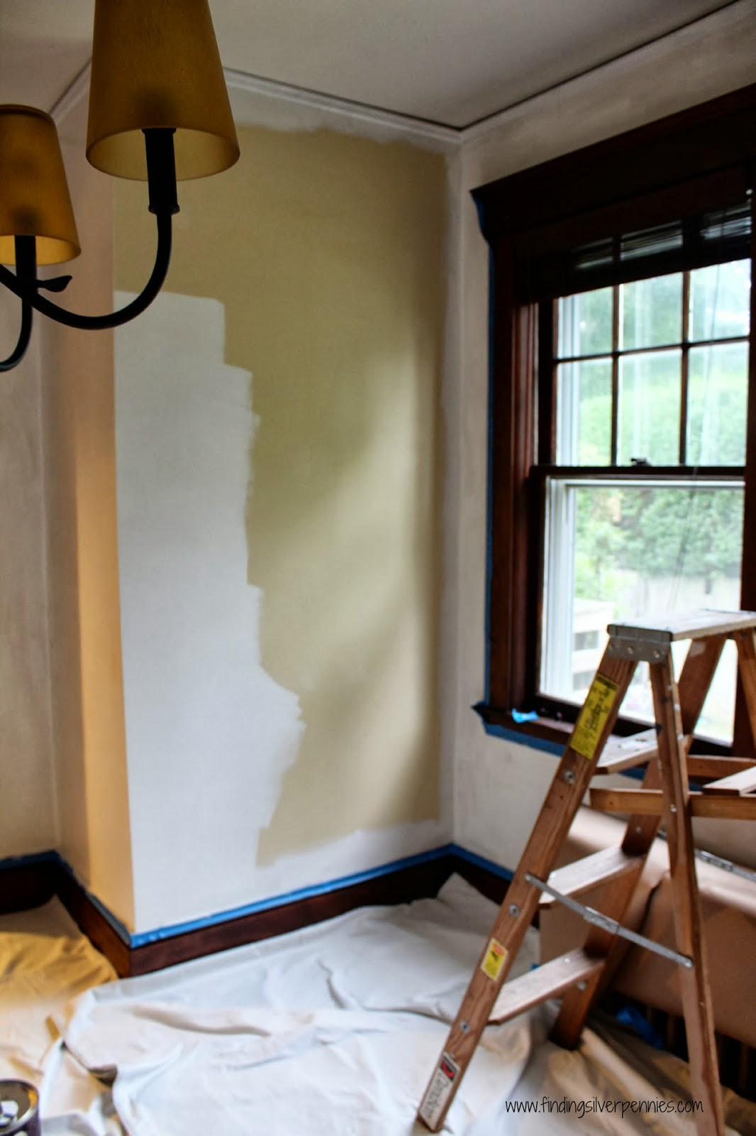 The Original Wall Color Was Summer Harvest Also By Benjamin Moore You Can See How Much Lighter Mascarpone Is Compared To