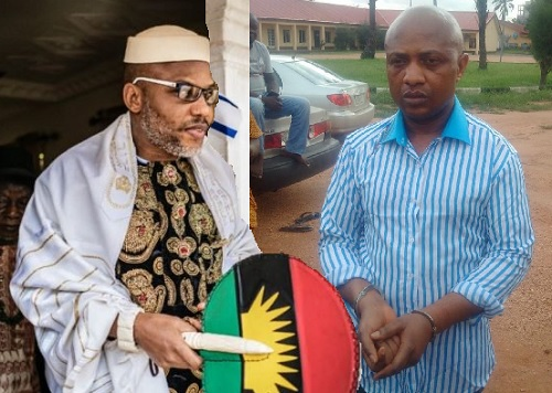 EVANS THE KIDNAPPER AND NNAMDI KANU OF BIAFRA