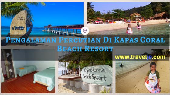 Pengalaman Percutian Di Kapas C Beach Resort