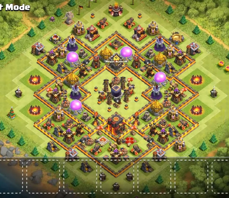 th10 dark elixir protection farming base