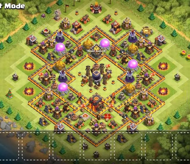 th10 dark elixir protection farming base