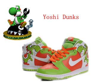 2b2a9835b29d ... norway yoshi nike dunk custom hightops for men 0706d aae72